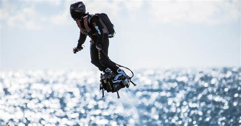Inventor will try to cross English Channel on jet-powered
