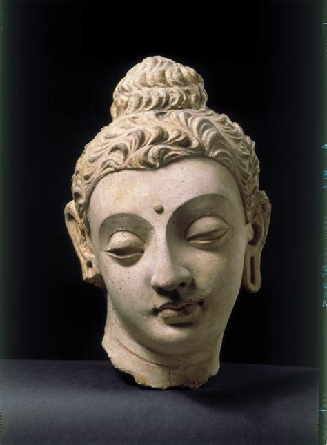 Head of the Buddha (Sculpture) | V&A Search the Collections